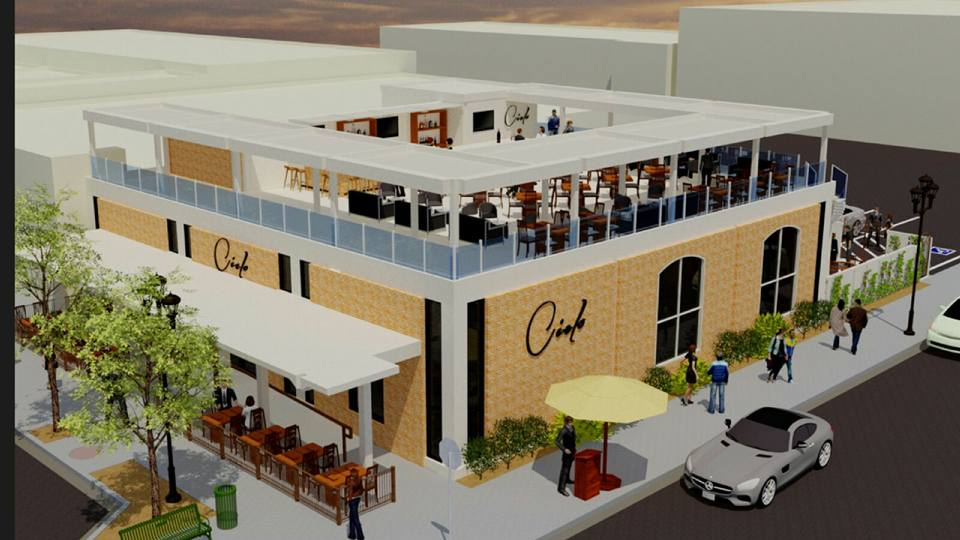 Rooftop Bar And Lounge Approved For Downtown on Factory Layout Design Floor Plan
