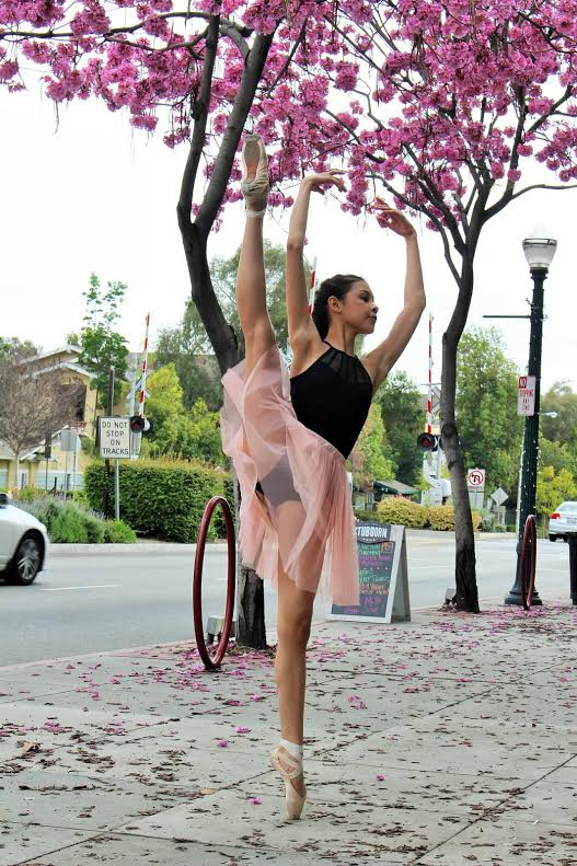 Whittier High School sophomore Madeline Czekaj placed third in the San Diego Youth America Grand Prix classical senior division out of more than 180 dancers. Now, she is headed to the New York City finals to compete for ballet scholarship opportunities. Photo credit: Chloe Hemsley