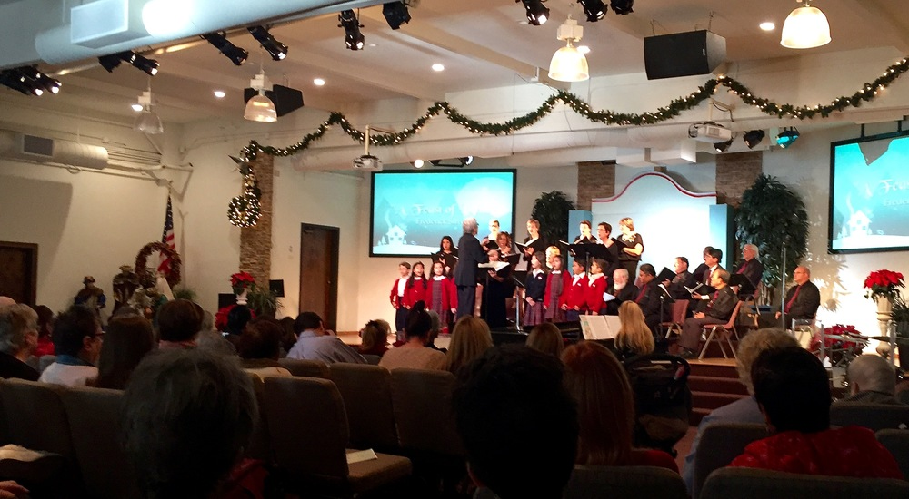 At their Christmas concert last season, the Downey Master Chorale also welcomed children to sing, with plans to start a new Downey Youth Chorale in the coming year.