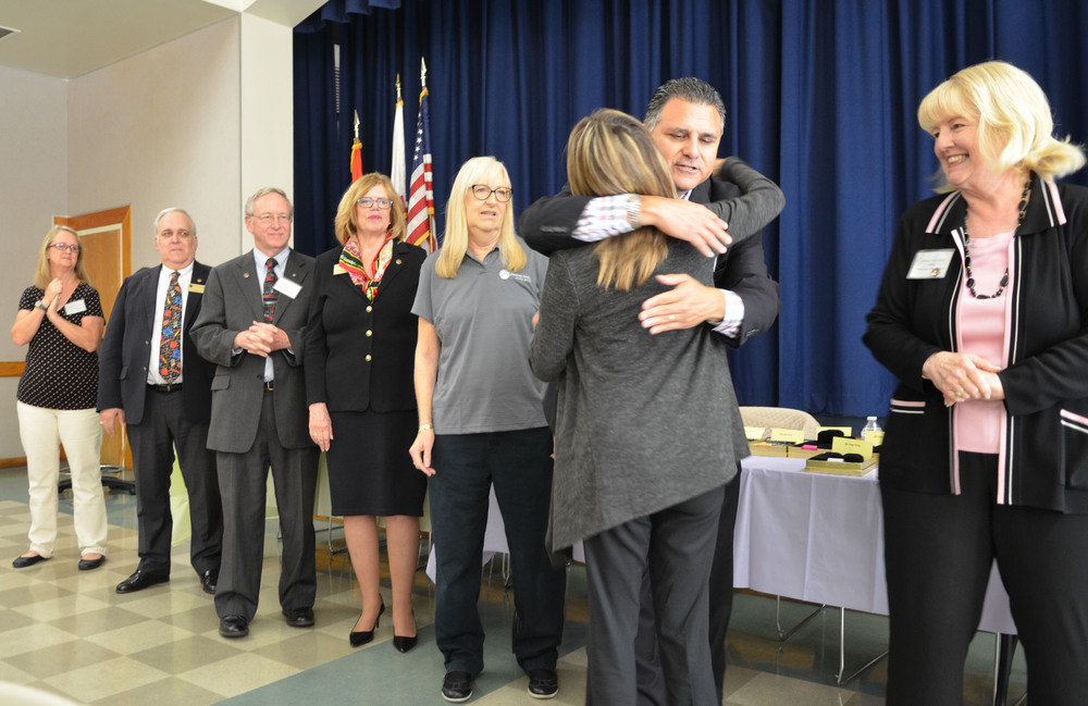 Downey Unified's Personnel Commission held their annual Classified Employee Pinning Ceremony on May 18, which honored 55 retirees and 142 non-teaching employees for their years of service to the students of Downey Unified.