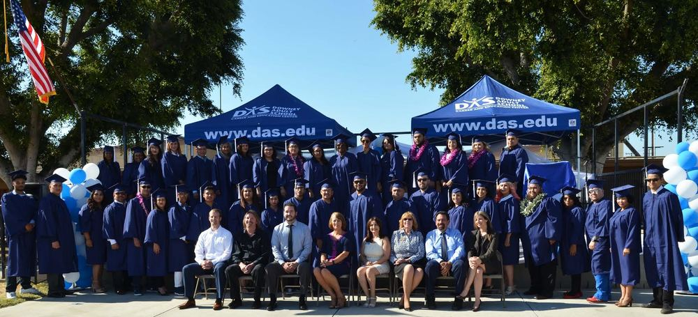 A record 78 students graduated from Downey Adult School this month. Photo courtesy Downey Unified