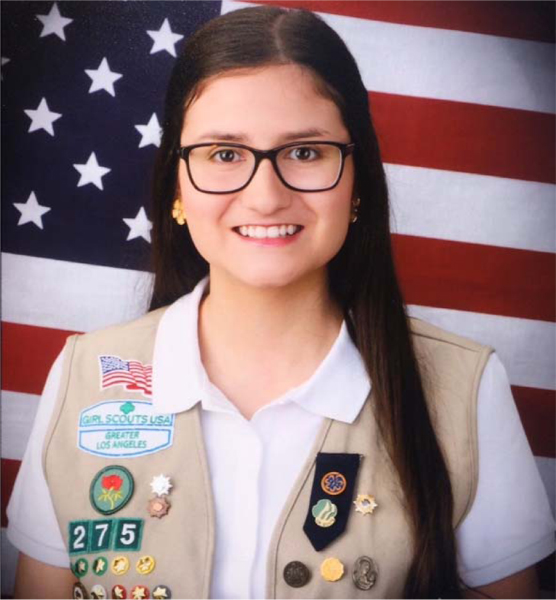 Girl Scout Earns Top Honor