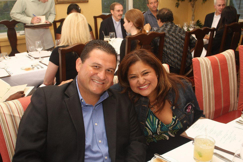 Councilman Luis Marquez and his wife, Alma. Alma filed paperwork to run for City Council. Facebook photo
