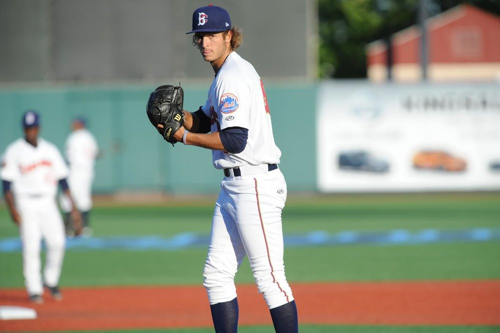 Gabriel Llanes has posted a 3.41 ERA in 12 outings this season. Photo courtesy Brooklyn Cyclones