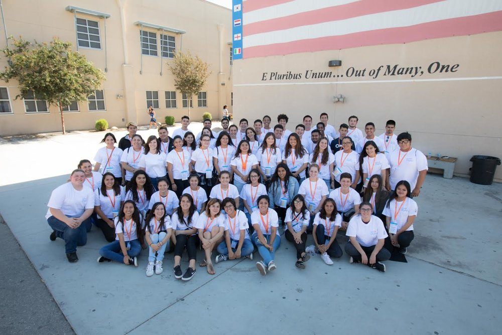 Group photo of the DHS SkillsUSA volunteers on Saturday, Oct. 8. Photo by Jim Toshio Inokuchi