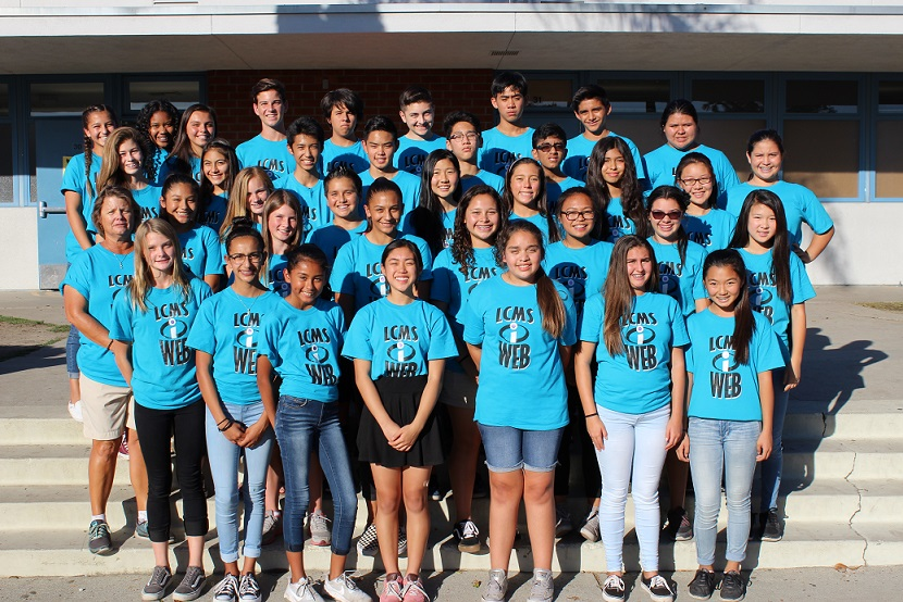 Los Coyotes Middle School's student mentoring program, Where Everybody Belongs, was honored with the Golden Bell award for fostering student inclusiveness as sixth graders transition into middle school.