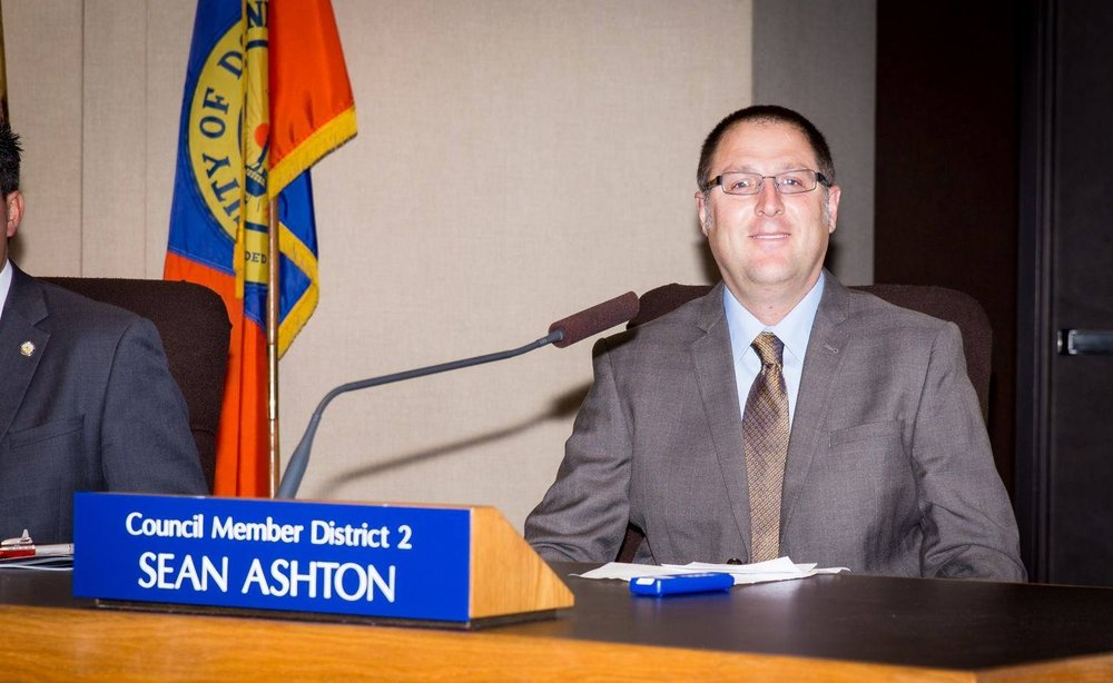 Sean Ashton was elected to the Downey City Council in 2014 but was bypassed for the position of mayor pro tem. Photo by John Zander