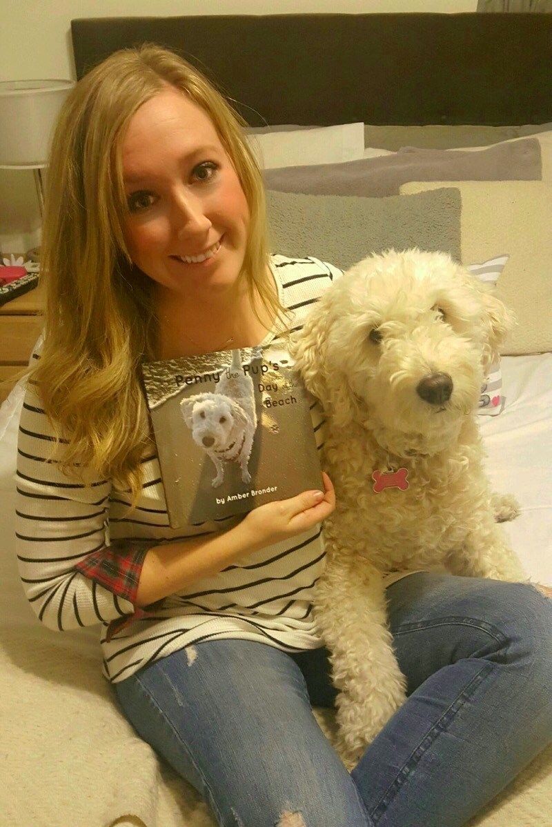 Harry Wirtz Elementary first-grade teacher Amber Bronder published a book about the fictional adventures of her real-life pet, Penny. The book was released Nov. 23 and is available through online book sellers Blurb.com and Amazon.
