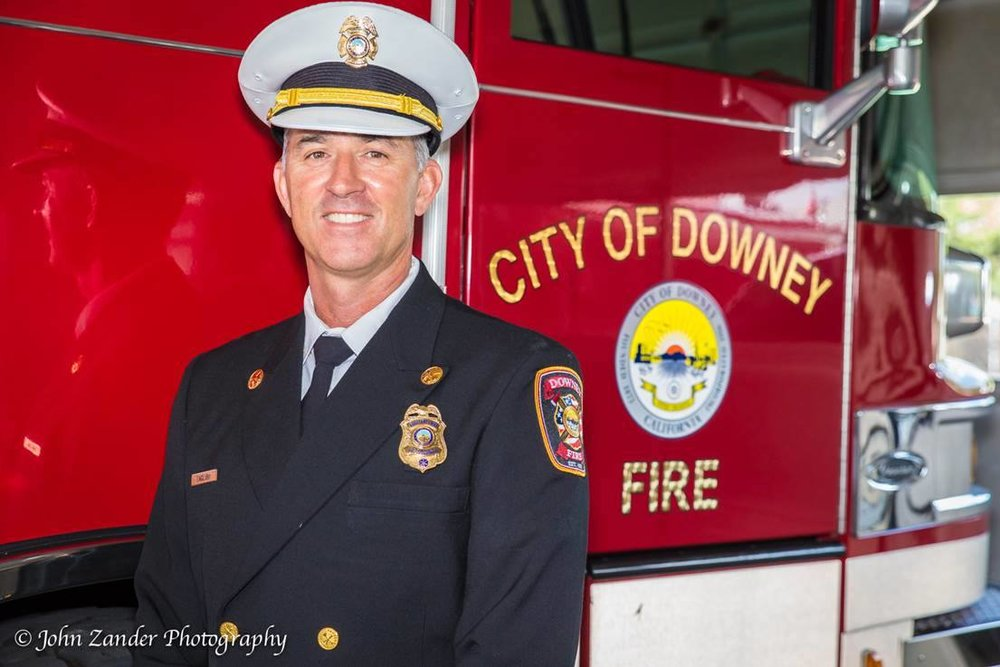 Bruce English was named fire chief in Vernon, effective Jan. 16. Photo by John Zander
