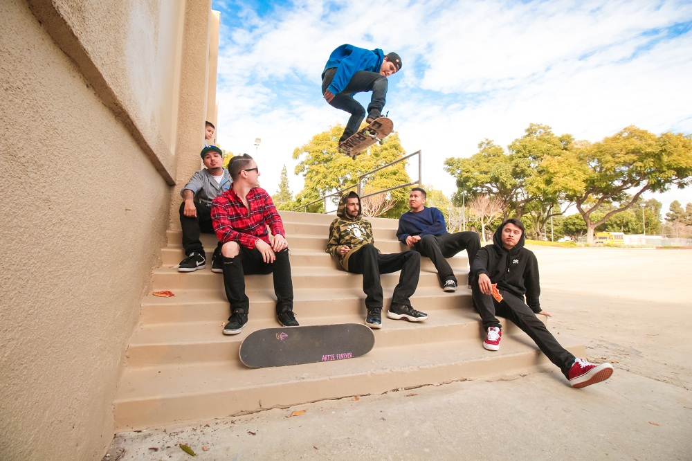 Forever Dedicated, a Norwalk-based skateboarding crew, says city officials refuse to reopen the Norwalk Skate Park after the murder of a fellow skater last November.  Photo | William Odis Martin