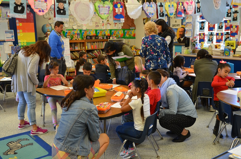 Last year, more than 300 educators visited DUSD elementary schools to learn about CGI. Photo courtesy DUSD
