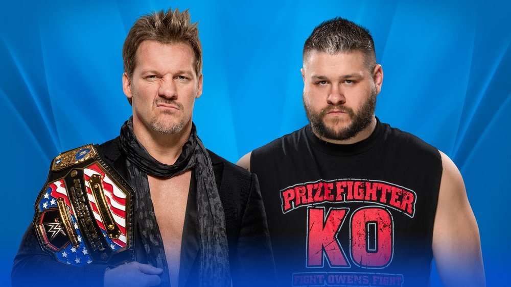 dc08c84c7a Kevin Owens vs Chris Jericho (c) for the United States Championship