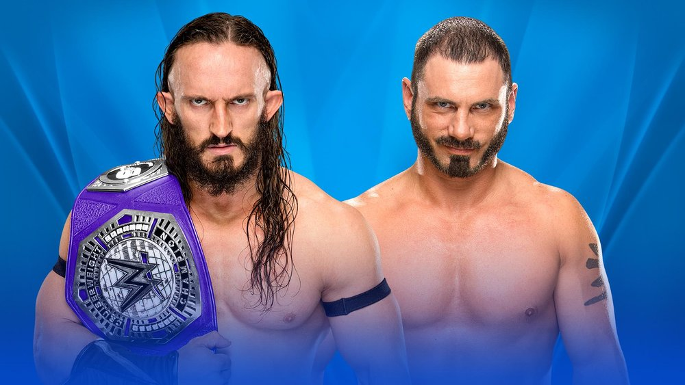 e3b87794f6 Austin Aries vs Neville (c) for the Cruiserweight Championship