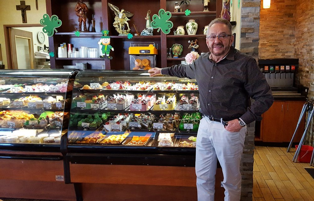 Melvyn Madrazo, owner of the Tropicana Bakery & Cuban Cafe. Photos by Carol Kearns