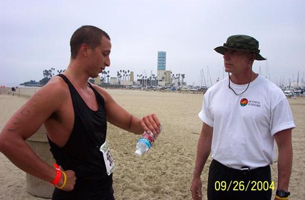 Bob Miller, right, died March 21. Photo courtesy Risher Mortuary