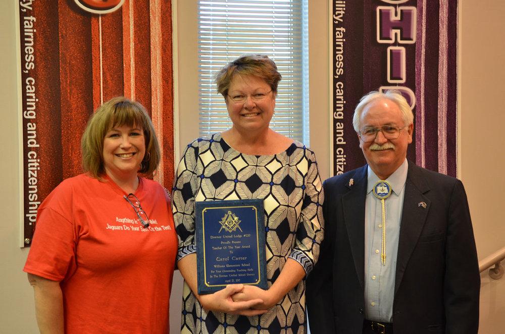 "William Elementary teacher Carol Carter has been called a ""guru"" for Downey Unified's transitional kindergarten program."