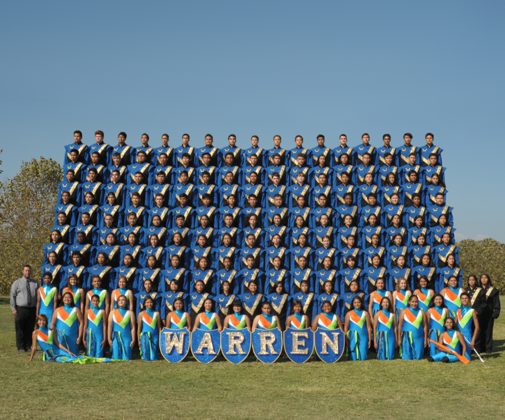 Picture obtained from Warren Band Website