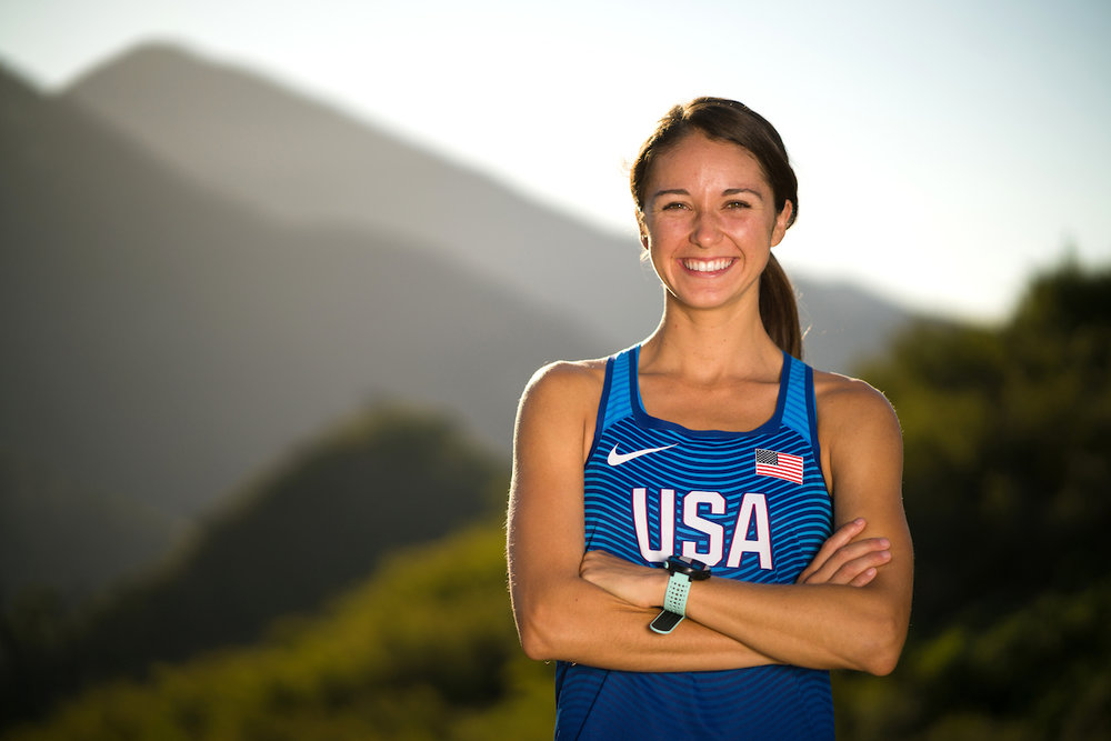 Warren High grad Dani Moreno will represent the United States at the World Long Distance Mountain Championships Aug. 6 in Italy.   Photo by Nick Presniakov
