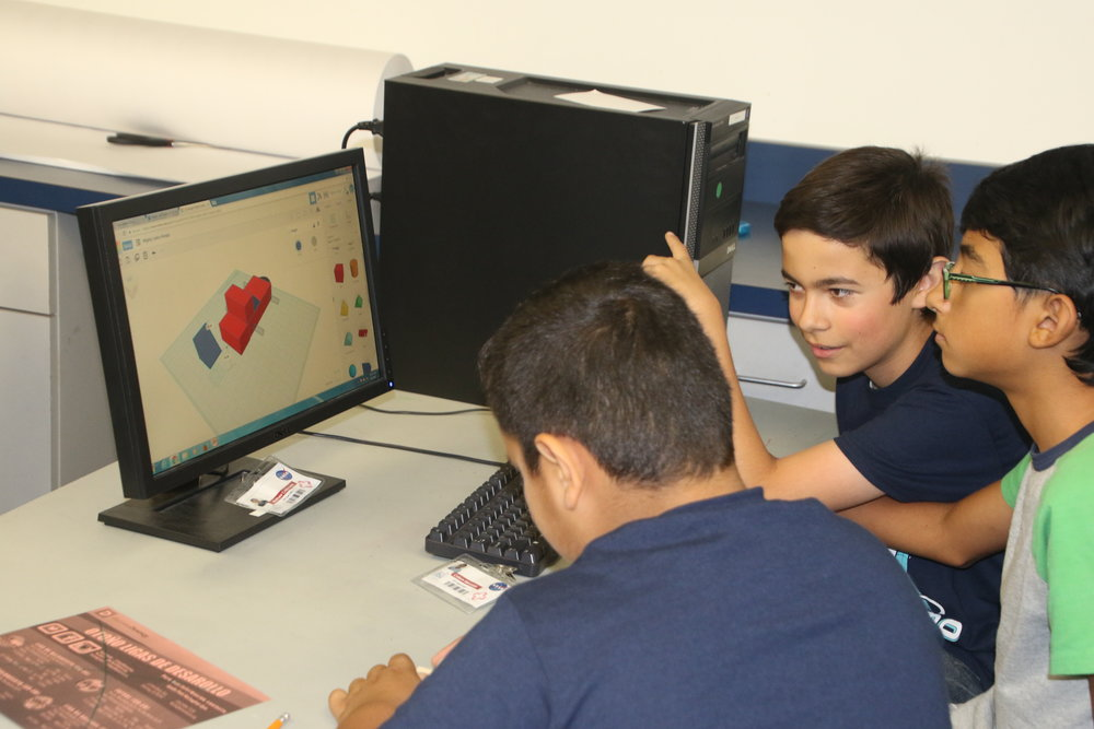 Students have already begun to use the new printer technology during a 3D printing summer camp. Photo By Alex Dominguez