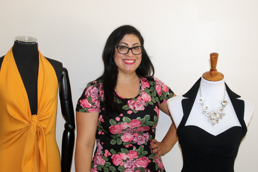 Criseida Serpas launched her own clothing line, Criseida Couture. Photo by Alex Dominguez