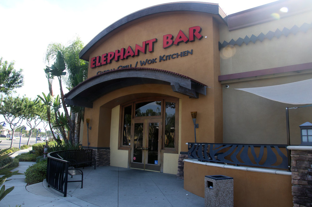 The Elephant Bar restaurant in Downey closed last month. Photo by Alex Dominguez