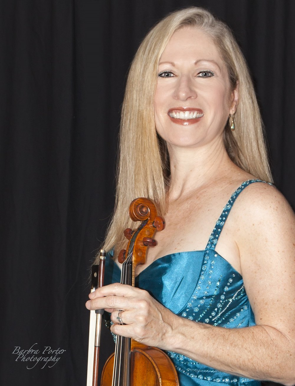 Carolyn Osborn will perform a violin solo at the Downey Symphony's Oct. 21 concert at the Downey Theatre.