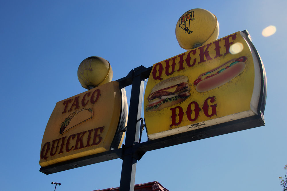 Taco Quickie in Bell Gardens closed Sunday. Photos by Alex Dominguez