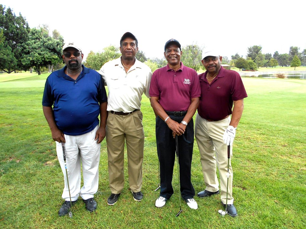 Golfers at last year's LivingHelp Center golf tournament.