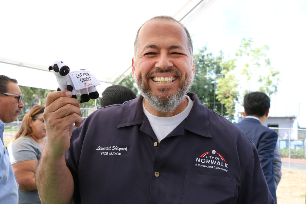 Norwalk vice mayor Leonard Shryock. City of Norwalk photo