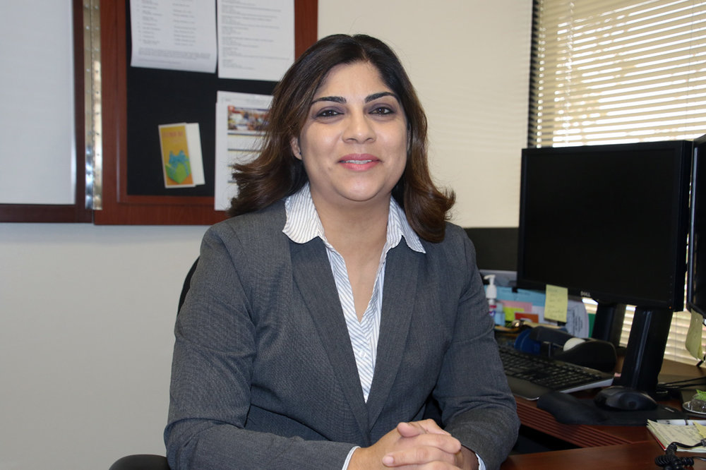 Maria Alicia Duarte was hired as Downey's city clerk last month. Photo by Alex Dominguez