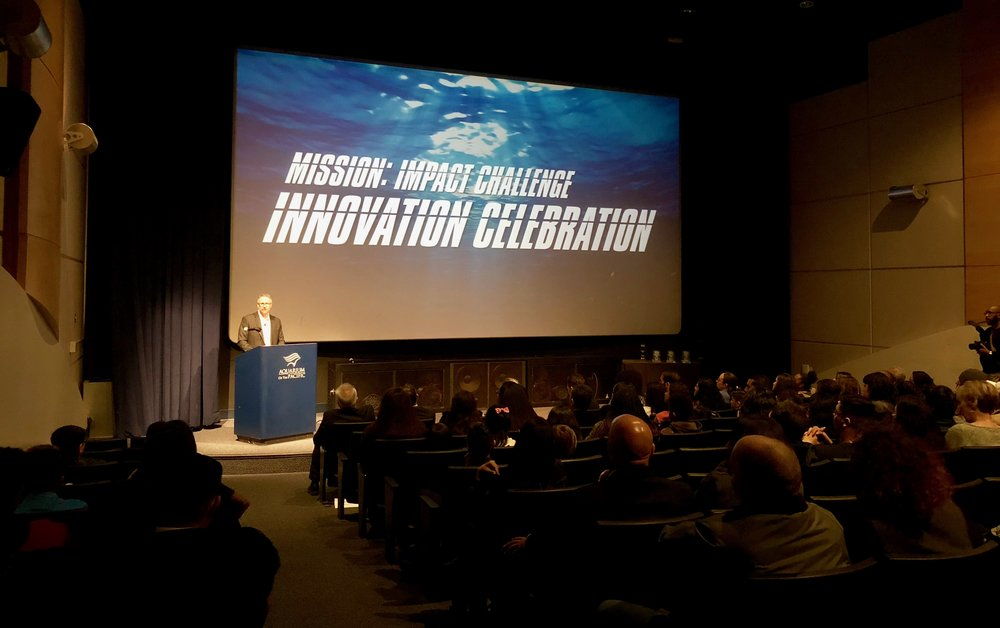 Winners of the Mission: Impact Challenge were announced last month at the Aquarium of the Pacific.