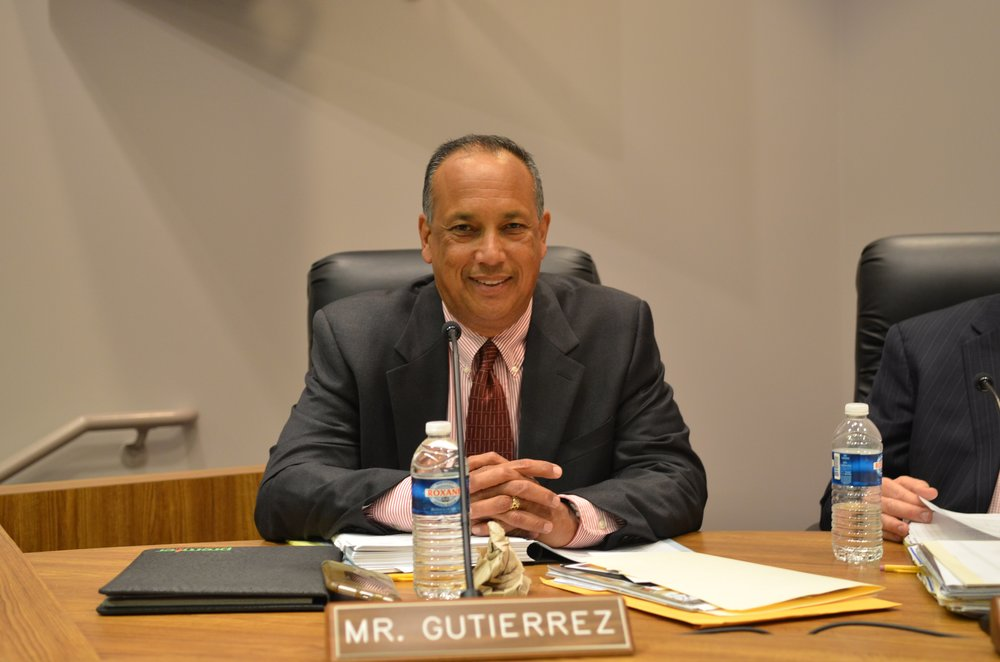 Willie Gutierrez resigned from the Downey Unified School District's board of education, effective May 10. Photo courtesy DUSD