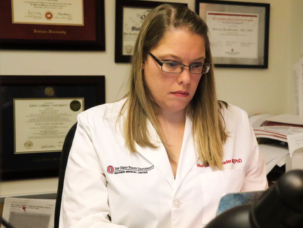 Dr. Marcie Bockbrader is leading a new clinical trial at The Ohio State University Wexner Medical Center studying how vagus nerve stimulation can improve motor function in patients who have suffered a stroke.