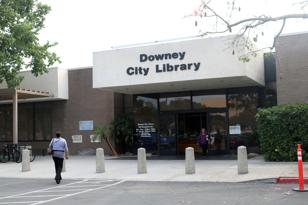 The Downey City Library will close between March 2019 and June 2020 for renovations. Photo by Alex Dominguez