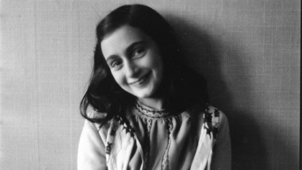 A photograph of Anne Frank taken in 1941.