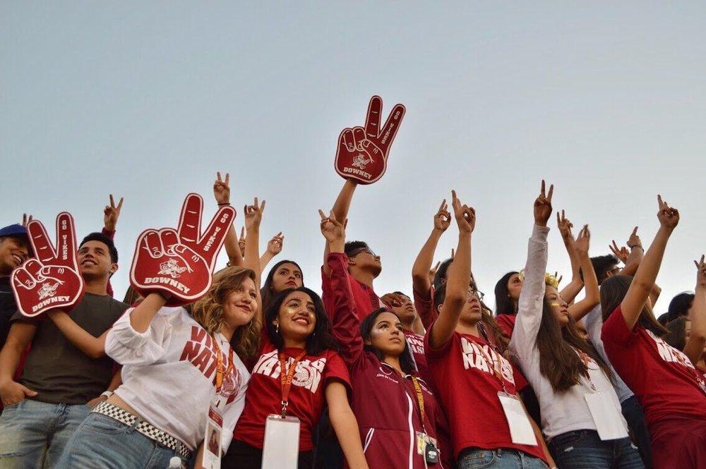 Photo courtesy Downey High School ASB.