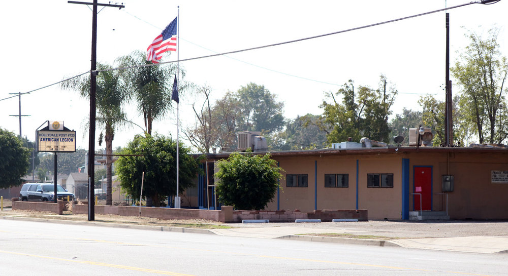 American Legion Post No. 723, before it was demolished earlier this month. Photo by Alex Dominguez