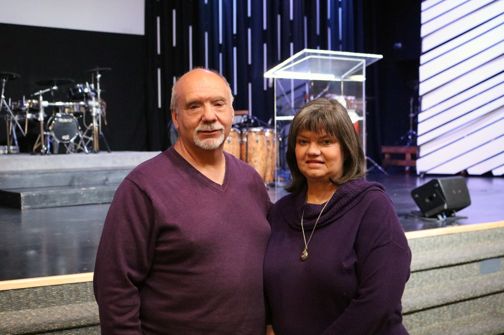 Don and Deborah Metcalf have left Desert Reign after establishing the church in 1983. Photo by Alex Dominguez
