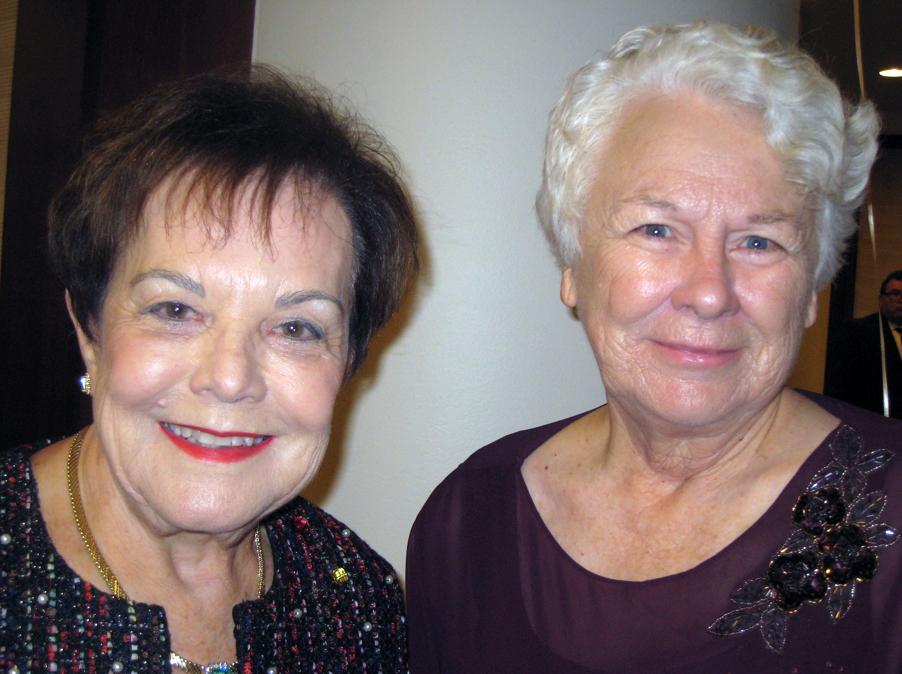 Bev Mathis and Connie Wetzstein.