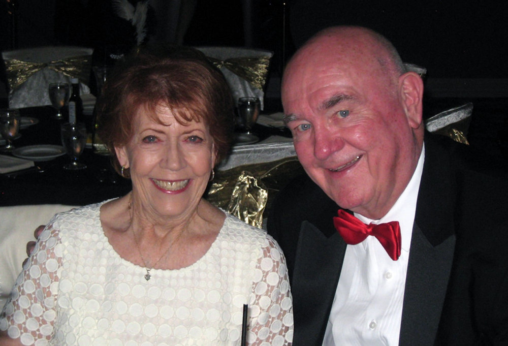 """Stella and Jim Derry.. """"I could not have done it without her,"""" Jim said. Photo by Lorine Parks"""