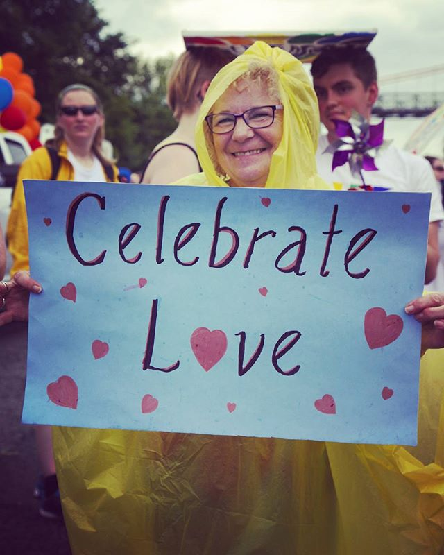 Celebrate #Love no matter the weather.  #dba #dbacampaign #dontbeafraid #celebratelove #pride #pride2016 #pridehalifax #halifaxpride #fierte #nofear #halifaxpride2016 #antihomophobia #halifax #halifaxns #novascotia #nouvelleecosse #canada #loveislove #lovehasnogender #shineyourlight #loveyourself #beyourself #amor #amour #loveisstrong #loveisstronger