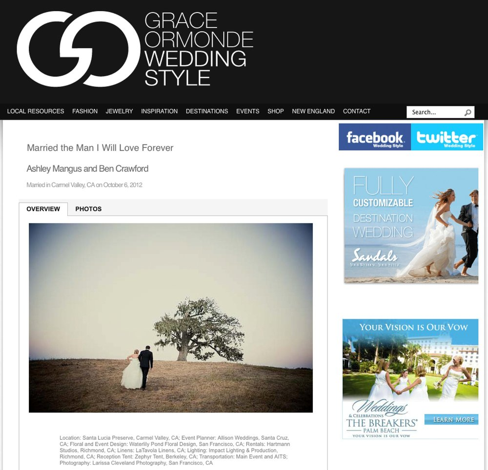GRACE ORMONDE MAGAZINE