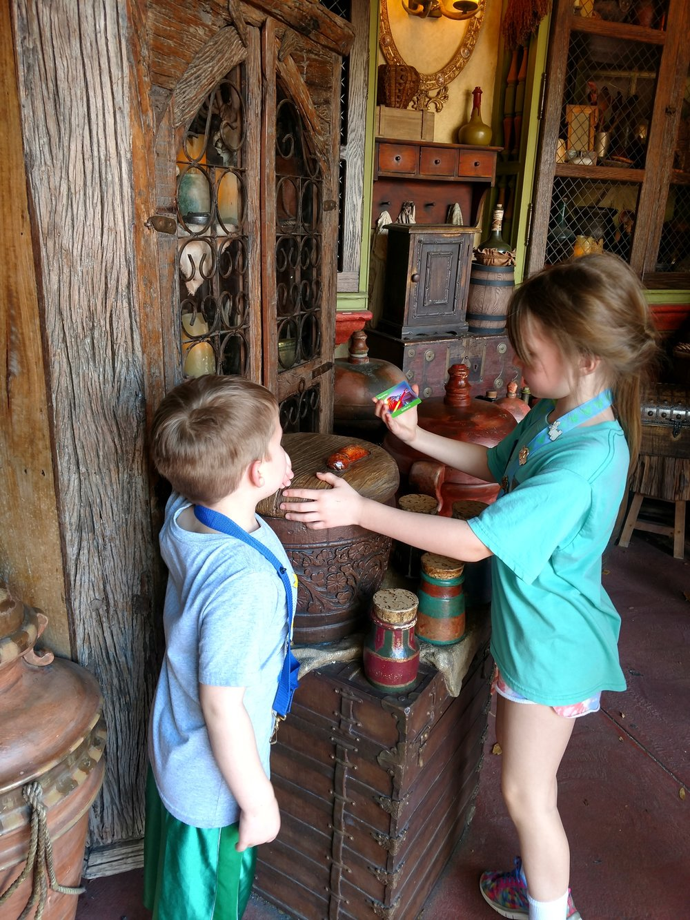 Both my son and daughter loved following the pirate maps to collect the clues and find the treasure.