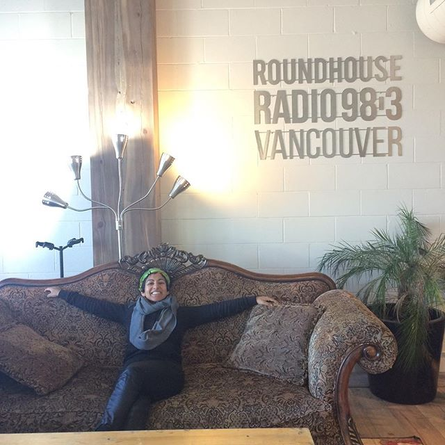 Miss @tharavayali living large @roundhouse983 going to be chatting with #janiceandcory all about our #popupmedicine event! Listen up locals😘 going on in 10!  Sugar Coated documentary. Tix in profile 👆🏾. Sunday @stretchvancouver 5pm.