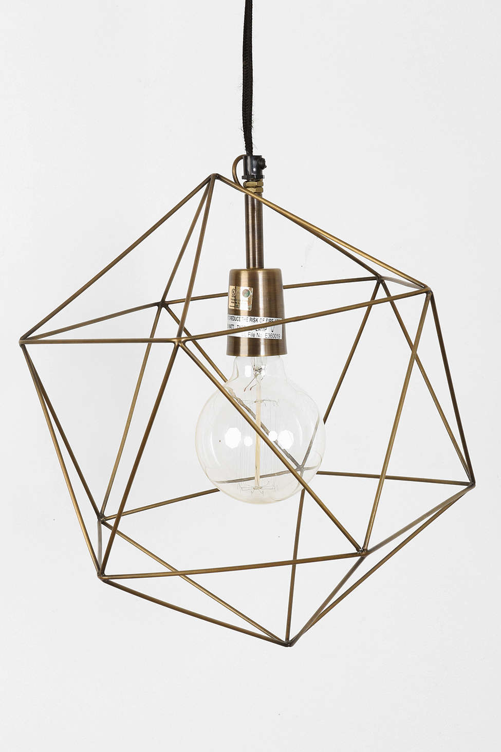 Things I love: Geometric Lights // 5 O'Clock Design Co.