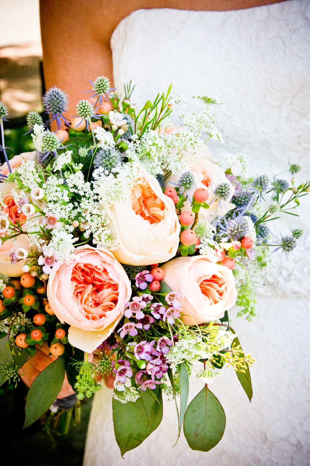Vintage Wedding  // Flowers // Bridal Bouquet // 5 O'Clock Design Co.