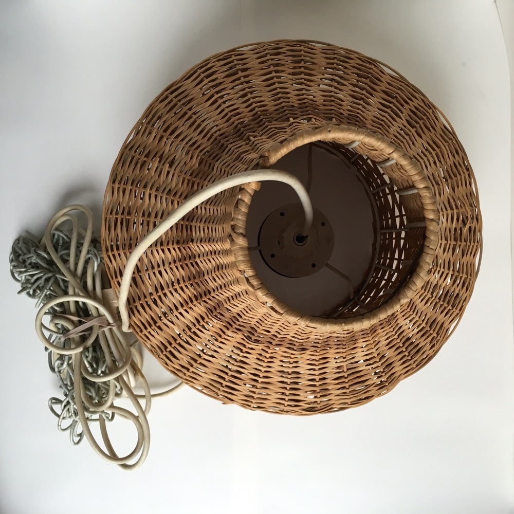 Vintage Basket Light