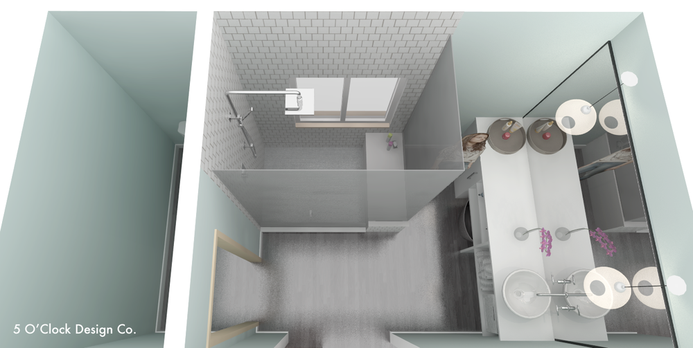 Master Bath Sketchup Model