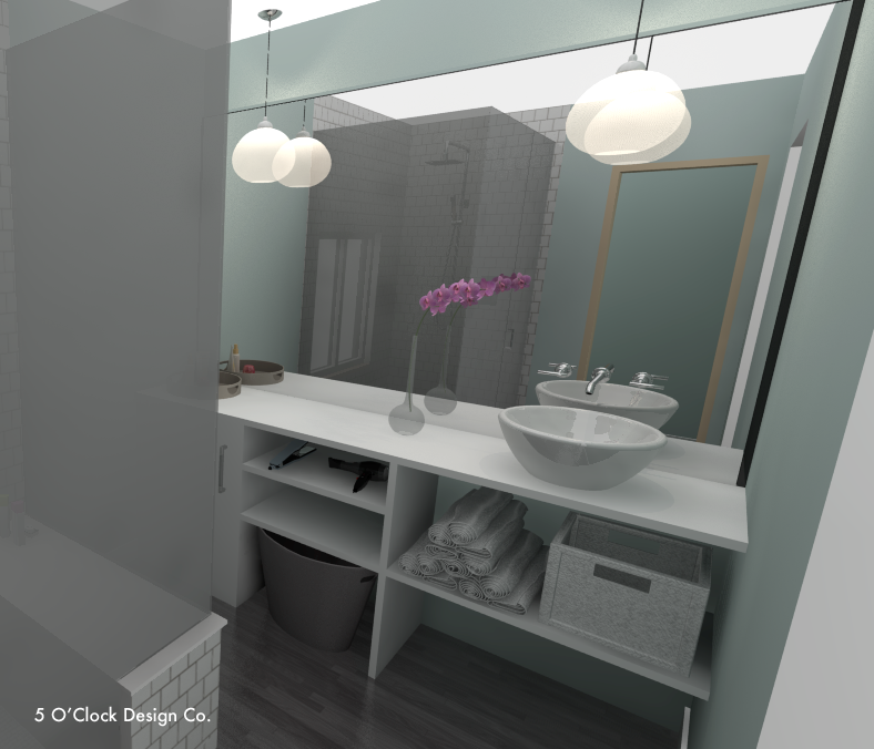 Master Bathroom Sketchup Model