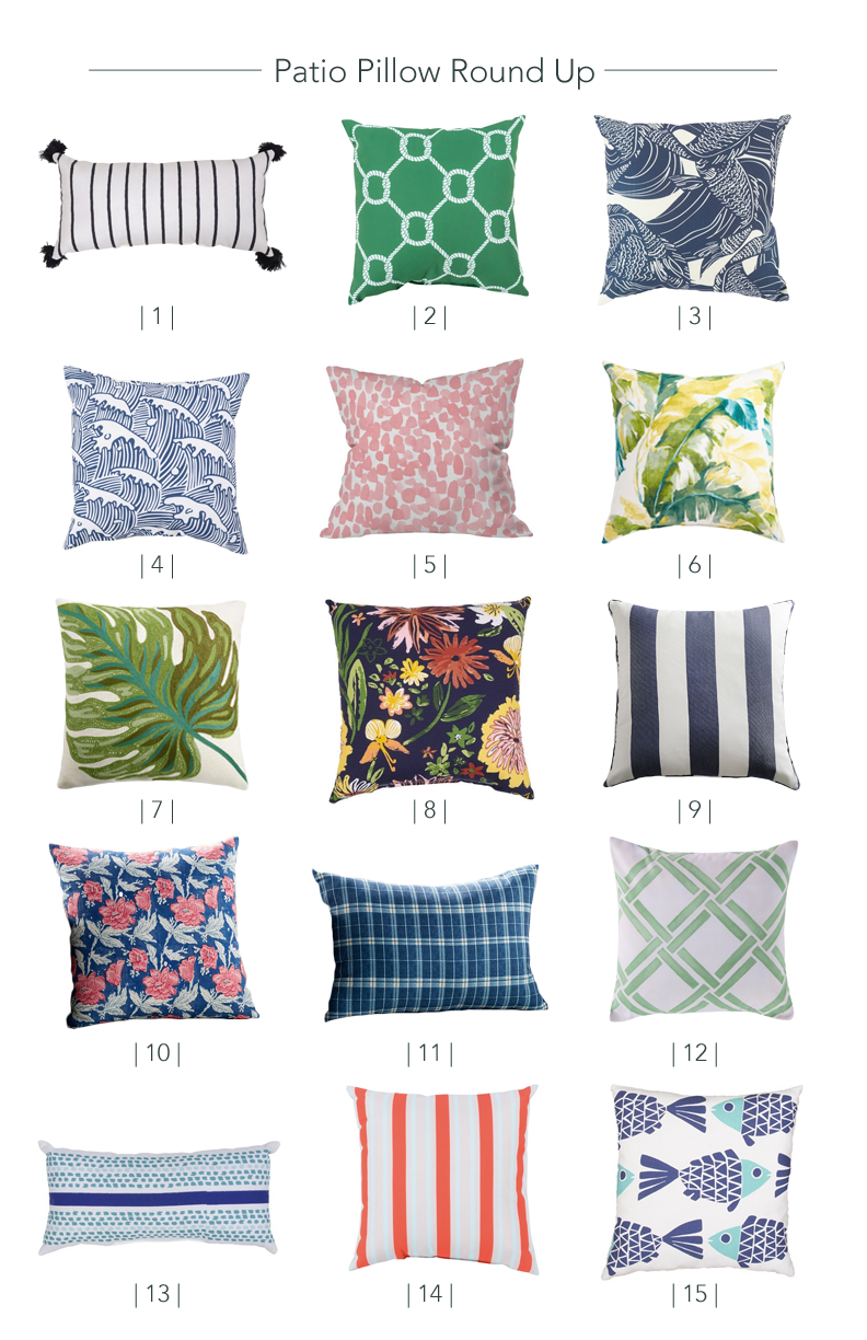 Patio Outdoor Pillows
